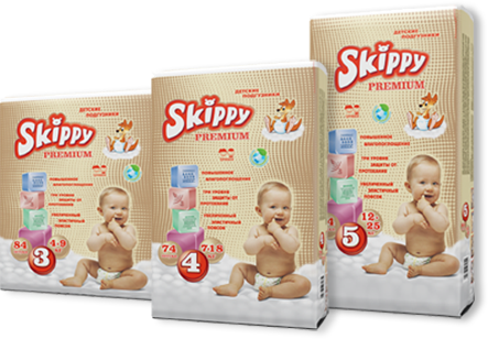 Baby diapers for increased comfort