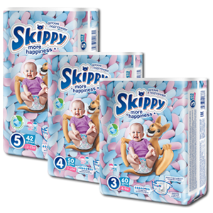 Popular line of affordable baby diapers